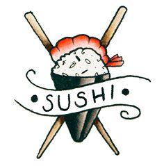 Sushi Rulez - Tattoonie #t4aw sushi #tattoonie #tattoo