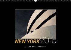 New York 2016, Licht und Schatten - CALVENDO Kalender von Harald Rautenberg