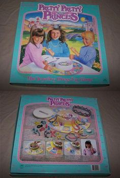"""The 5 Most Messed Up Girly Board Games: """"You must match, damnit. Also, the unwritten rule that all losers of Pretty Pretty Princess automatically become your Ugly Ugly Underlings."""" My childhood! I remember this game! 90s Childhood, Childhood Memories, Sweet Memories, Mazzy Star, Back In The 90s, 90s Girl, 90s Toys, Barbie, 90s Nostalgia"""