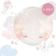 Hot Air Balloon Wall Sticker - Girl
