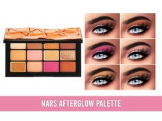 The Sims 4 Nars Afterglow Palette The Sims, Sims 4 Mods, Palette, Eyeshadow, Princess, Makeup, Beauty, Make Up, Eye Shadow
