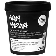 Aqua Marina Face and Body Cleanser from LUSH