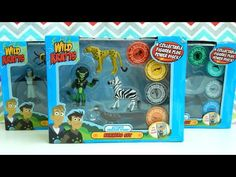Wild Kratts Toys Creature Power Animal Sets Runners Fliers Swimmers - YouTube