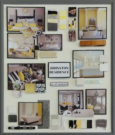 Interior Decorating Presentation Boards