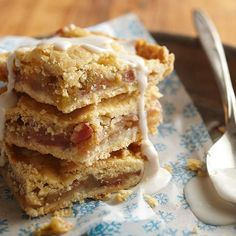 Frosted Apple Slab Pie - my grandmother used to make this, sooooooooo good!
