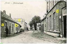 0214144 Molenstraat / gewijzigd in Burg. Wijnenstraat. De foto is van c.a.1900, wat weten we nog van de bewoners?