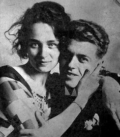 René Magritte et sa Femme