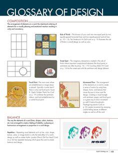 Glossary of Design Download - Paper Crafts Card Design Handbook