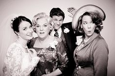 "And of course, the moms posing for GIFs with their newly married children. | David Burtka And The Cast Of ""It Shoulda Been You"" Take Cute Wedding GIFs"