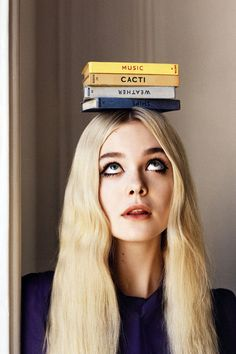 """Elle Fanning in """"Elle of the Ball"""" for Vogue UK, June 2014 Photographed by: Angelo Pennetta"""