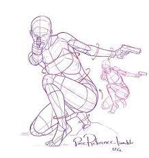 Image result for kneeling pose drawing
