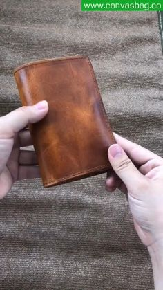 Diy Leather Wallet Pattern, Handmade Leather Wallet, Leather Card Wallet, Leather Gifts, Leather Keychain, Leather Wallets For Men, Brown Leather Wallet, Men Wallet, Leather Diy Crafts
