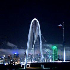 Dallas skyline..