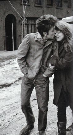 Bob Dylan and Suze Rotolo, 1963