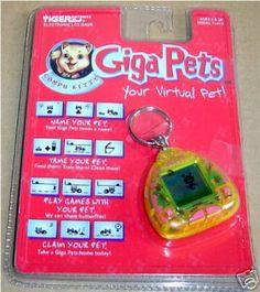 I wanted a giga pet so bad.  I had a nock-off : (