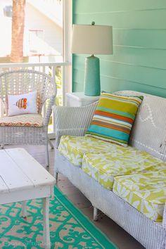 porch | Jane Coslick | Doc Holiday Cottage - Tybee Island