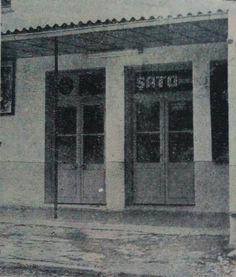 Buca'nın ilk kapalı sineması olan Şato Sineması, 1967.