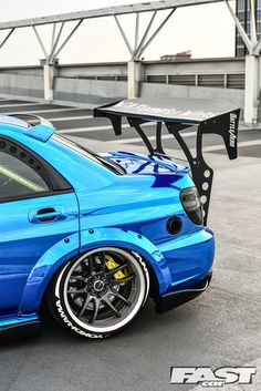 Tuned Subaru Impreza WRX blob eye