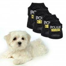 cb44d312568a Pet Dog Vest Clothes Puppy T-Shirt Coat Summer Apparel Costumes Black -   5.86 Free Shipping