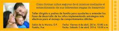 """CONFERENCIA DIRIGIDA A PADRES DE FAMILIA """"CÓMO FORMAR NIÑOS SEGUROS DE SÍ MISMOS, MEDIANTE EL ENTENDIMIENTO DE SUS DIFERENTES ETAPAS DE DESARROLLO"""" (IMPARTIDA POR M.A. LSCW NANCY BRUSKY) + SALÓN DE LA MARINA, LOMAS DE CHAPULTEPEC, D.F. VIERNES 04 ABRIL 10:00 AM + CENTRO MEXICANO LIBANES, PUEBLA, PUEBLA SÁBADO 05 ABRIL 10:00 AM PARA MÁS INFORMACIÓN CONTÁCTANOS A guiaeducarte@gmai... CUPO LIMITADO 10% DE DESCUENTO SI PAGAS ANTES DEL 14 DE MARZO"""