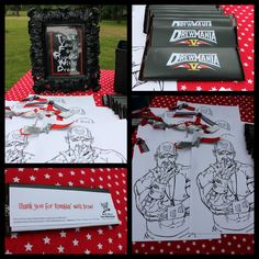 WWE Birthday Party Favors