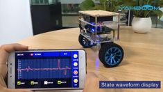 Yahboom Balance Robot Car Compatible with Arduino Programmable Kit Arduino Clock, Laser Arduino, Arduino Bluetooth Rc Car, Led Cube Arduino, Arduino Robot Arm, Arduino Radio, Cnc Laser, Arduino Circuit, Strollers
