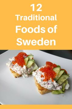 In this post, a Swedish blogger provides insight on what to eat in Sweden. Learn more about the traditional food of and desserts of Sweden including pickled herring, toast skagen, gravlax, arsoppa, and more! Find out what foods you don't want to miss on your trip to Sweden as your next travel destination from someone actually living in Sweden! #EcoTourLinQ #Sweden #Swedish #Foodie #TravelTips #Wanderlust