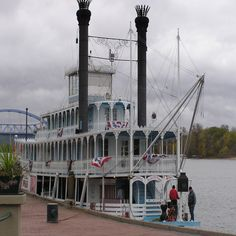 Julia belle Swain cruise the Mississippi in Lacrosse, Wisconsin
