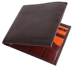 Ted Baker Wallet - Chocolate Letwal Wallet #Mens #Wallet