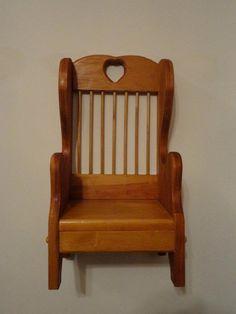 Wooden Doll Chair -- Hidden Gem Furniture