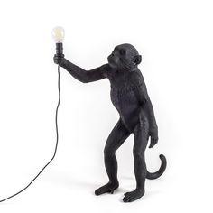"""Black Monkey Lamp stand at """"La Boutique de l'Imposture"""""""