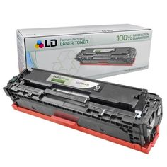 Remanufactured Replacement Laser Toner Cartridge for CB540A (HP 125A) Black: Save money with our remanufactured black laser toner cartridge…