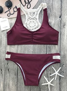 Just relax and let the beauty of this super cute bikini set wash over you. — — Search more at chicnico.com