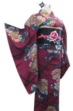 Meisen Kimono 銘仙キモノ♪