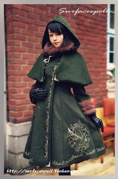 I really like this coat--even the color. It's one of the few shades of green I actually like.