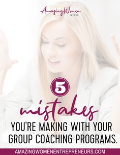 Avoid These Deadly Mistakes, And Build A Rock Solid Group Coaching Program That Will Have Them Lining Up For More! Best Entrepreneurs, Starting Your Own Business, Work From Home Moms, Health Coach, Along The Way, Mistakes, Online Marketing, Online Business, Coaching