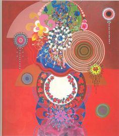 """Livro das cores: """"Os três músicos"""" - obra de Beatriz Milhazes"""