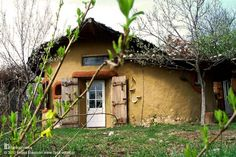 This is one of the cob homes build by architect and natural builder Ileana Mavrodin of Casa Verde in Banat, Romania. More pictures and video at www.naturalhomes.org/timeline/casaverde.htm