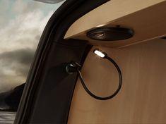 Schwanenhals LED Leselampe - Leseleuchte - Licht  Aufstelldach - Schlafdach VW Camper Bus