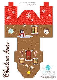 : Snowy Village Design -: Personnalisé Cartes De Noël -: Pack de 20 -: