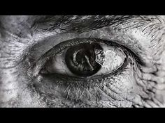 Hyperrealism - Time lapse drawing the eye No1 - YouTube