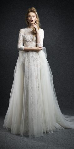 Ersa Atelier Fall 2015 Wedding Dresses