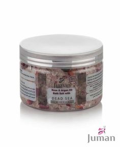 Produkty s bio arganovým olejom Rose Bath, Dead Sea Minerals, Argan Oil, Bath Salts, Mason Jars, Food, Beauty, Canning Jars, Cosmetology