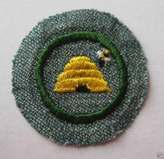1947 Girl Scout Beekeeper Badge