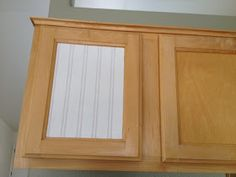 Weathered or Not: Kitchen Cabinet Makeover Tutorial.. Love how this looks!