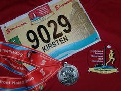 My first half-marathon medal