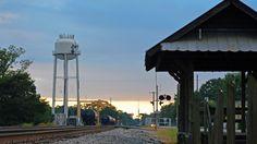 Rail Road Street Bay Minette, AL Photo contest 2015