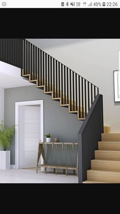 47 most popular modern house stairs design models 1 Staircase Railing Design, Interior Stair Railing, Modern Stair Railing, Home Stairs Design, Stair Handrail, Railing Ideas, Railings For Stairs, Modern Stairs Design, Staircase Ideas