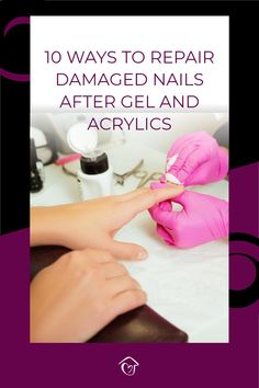 Gel or acrylic nails can cause so much damage to your nails. I am giving you the exact process of repairing your nails naturally one step at a time. Diy Beauty, Beauty Tips, Beauty Hacks, Damaged Nails, Home Spa Treatments, Dark Circles Under Eyes, Gel Acrylic Nails, Spa Day At Home, Dry Scalp