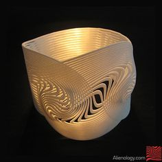 Alienology  |  3d printed Jewelry  |  Dualnexus by Alienology , via Behance